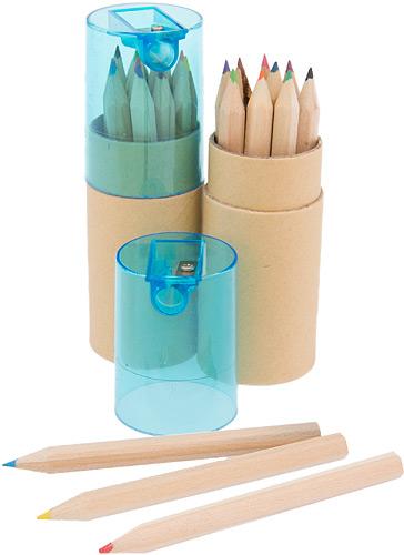 Farbstiftdose mit Spitzer
