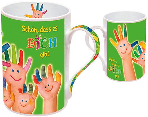 Tasse «Schön, dass es dich gibt»
