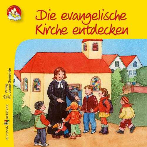 Mini-Bilderbuch «Die evangelische Kirche entdecken»