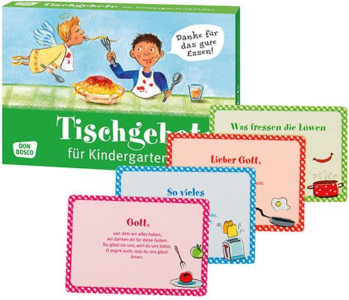 Tischgebete für Kindergartenkinder