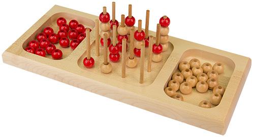 Holzspiel Sogo (Vier gewinnt 3D)