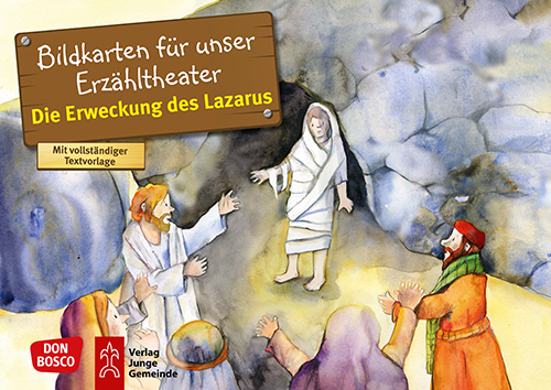Bilderserie «Die Erweckung des Lazarus»