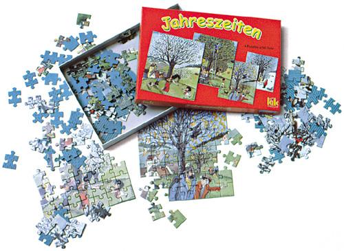 Jahreszeiten-Puzzles