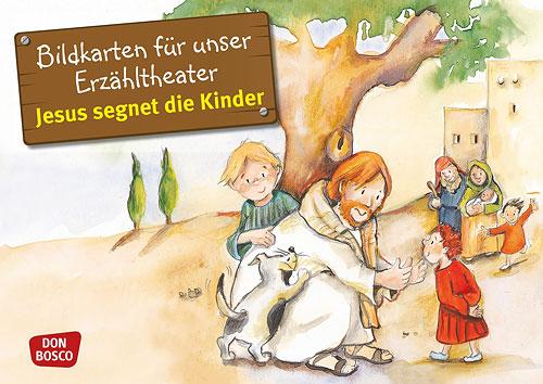 Bilderserie «Jesus segnet die Kinder»
