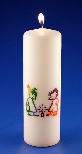 Kerze «Fiire mit de Chliine»