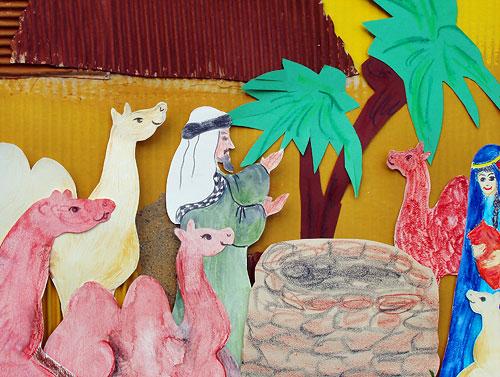 Figuren-Set «In der Wüste» (Teil 1)