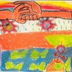 «Frieden auf der Welt», Finja, 4. Kl.
