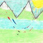 «Gott und die Natur», Andrin, 3. Kl.