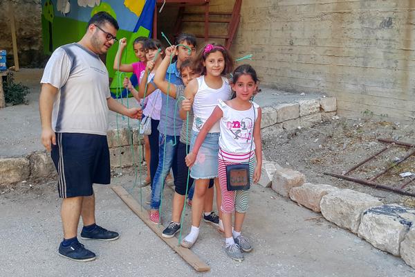 Bewegungs-Spiele aus Syrien