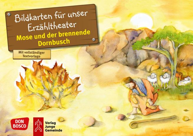 Bilderserie «Mose und der brennende Dornbusch»