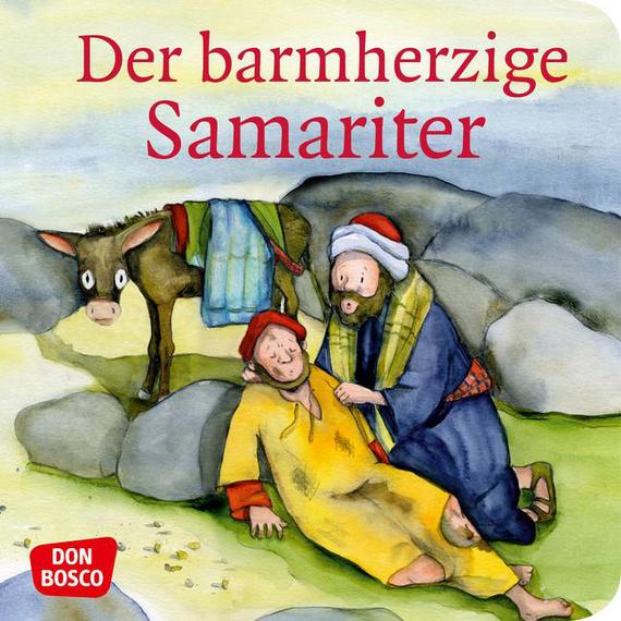 """Mini-Bilderbuch """"Der barmherzige Samariter"""""""