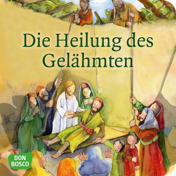 Mini-Bilderbuch «Die Heilung des Gelähmten»