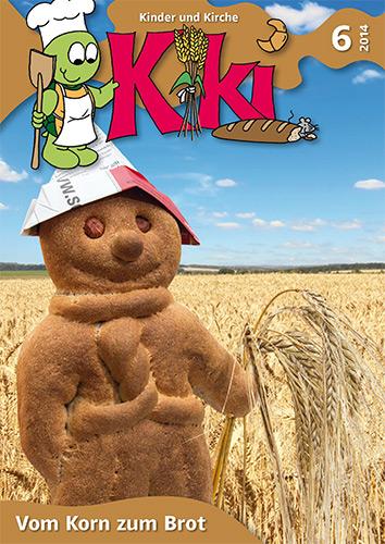 Kiki 6/2014: Vom Korn zum Brot