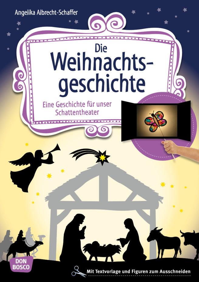 Die Weihnachtsgeschichte für Schattentheater