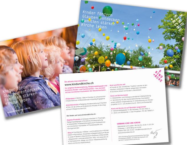 Werbekarten – Verband Kind und Kirche