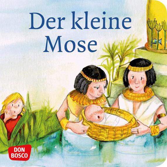 Mini-Bilderbuch «Der kleine Mose»