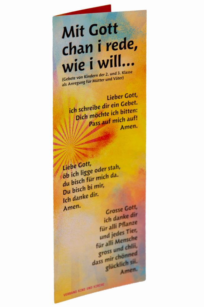 Kindergebete «Mit Gott rede»