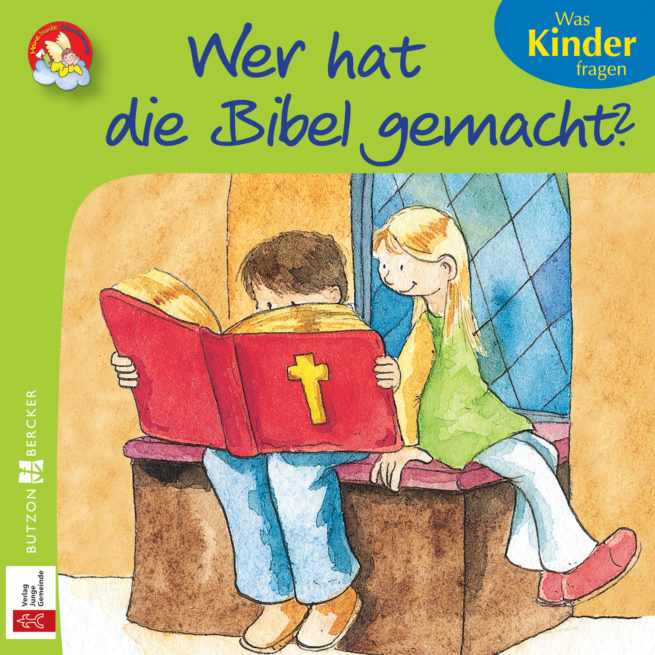 Mini-Bilderbuch «Wer hat die Bibel gemacht?»