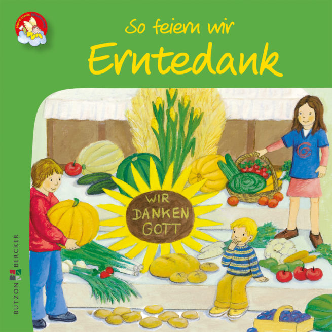 Mini-Bilderbuch «So feiern wir Erntedank»