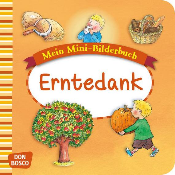 Mini-Bilderbuch «Erntedank»