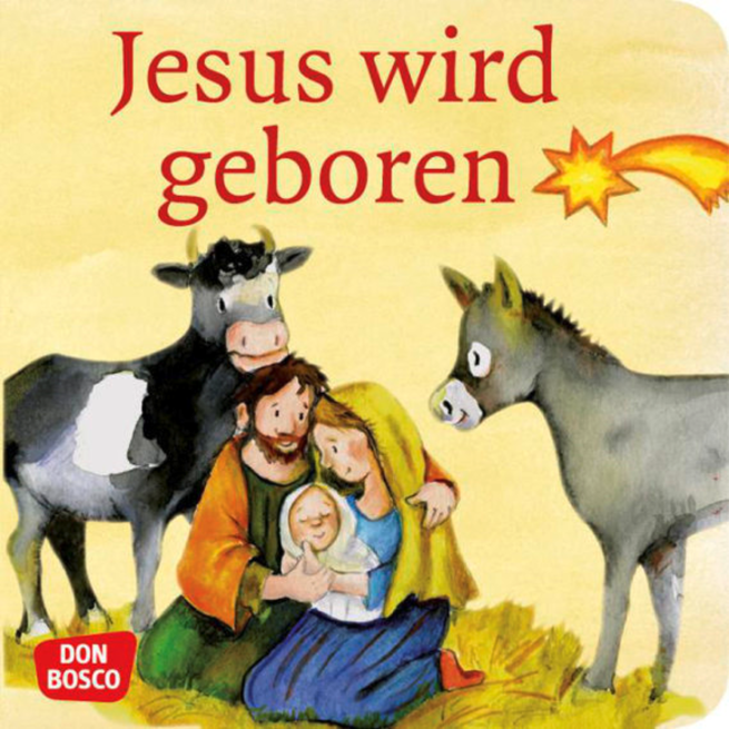 Mini-Bilderbuch «Jesus wird geboren»