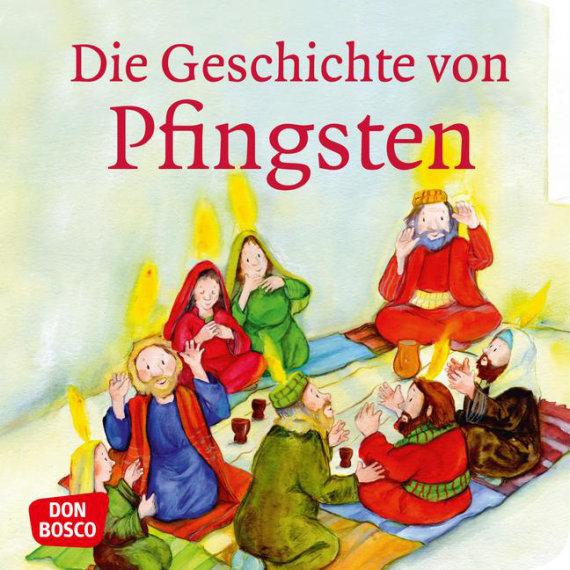 Mini-Bilderbuch «Die Geschichte von Pfingsten»