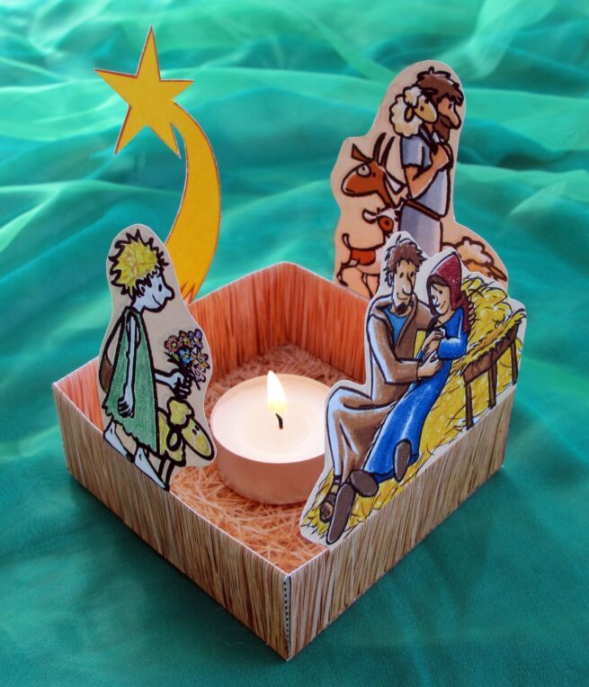 Bastelbogen «Meine Weihnachtsschachtel»