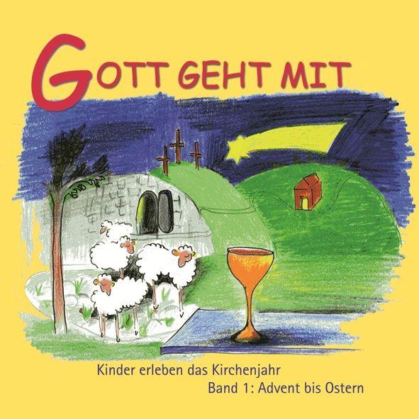 Mini-Bilderbuch «Gott geht mit»