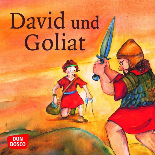 Mini-Bilderbuch «David und Goliat»