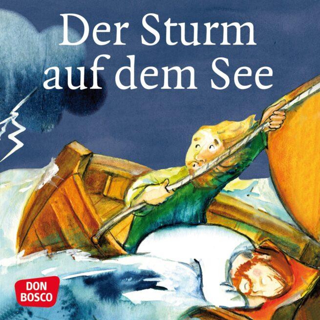 Mini-Bilderbuch «Der Sturm auf dem See»