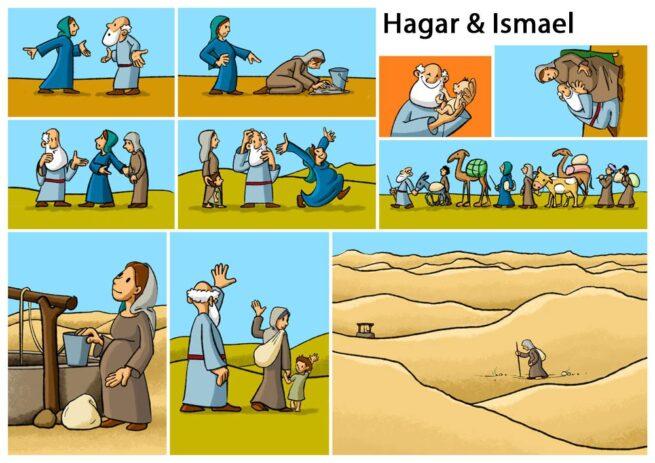Figurenset «Hagar und Ismael»