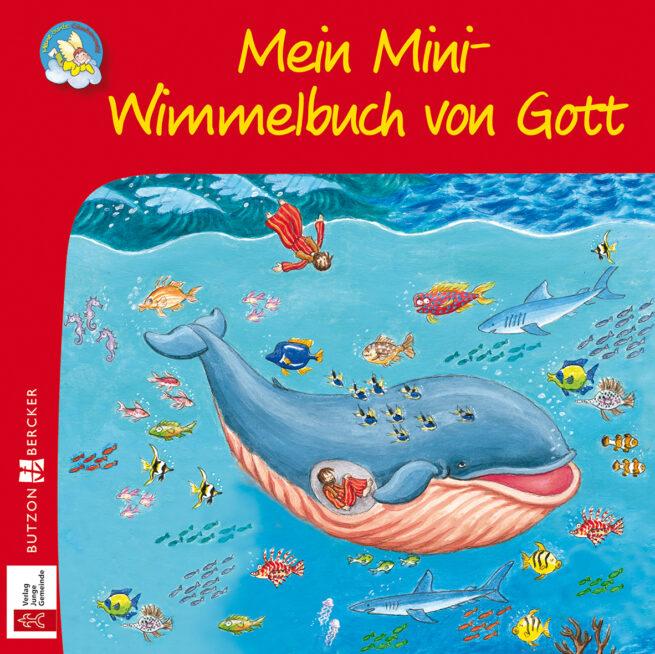 Mini-Bilderbuch «Mein Mini-Wimmelbuch von Gott»