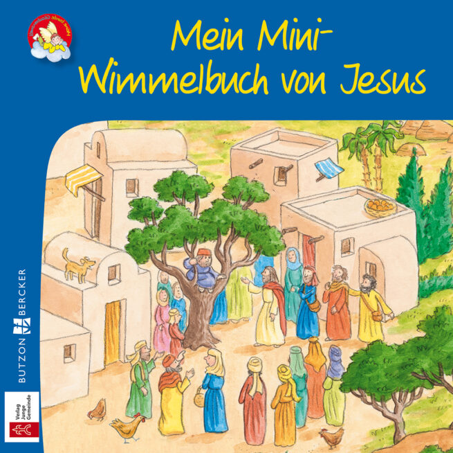 Mini-Bilderbuch «Mein Mini-Wimmelbuch von Jesus»