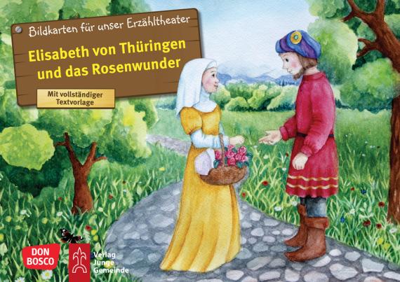 Bilderserie «Elisabeth von Thüringen und das Rosenwunder»